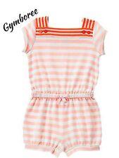 Nwt Girls Gymboree Cute on the Coast Striped Jumper Romper Size 4T