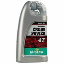 Motorex Cross Power 10W50 Synthetic Oil 1 Litre KTM SXF 250 350 450 2017 2018