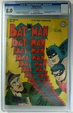 1945 DC~Batman #31~CGC 8.0 (VF)~1st App. of Punch & Judy