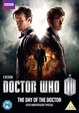 Dr Who Day of The Doctor DVD 50th Anniversary Special