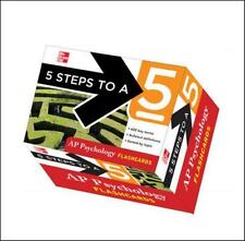 5 Steps to a 5 AP Psychology Flashcards by Laura Lincoln Maitland (English)
