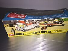 Vintage Corgi Toys / MIB / VW & Cooper-Maserati Club Racing / Gift Set No. 25