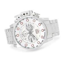 New Invicta 50mm I Force Bomber Quartz Chronograph Bracelet Watch 18696