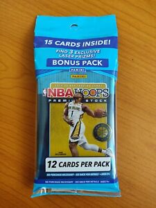 NBA Hoops 2019-2020 Premium Stock Cello Fat Pack BRAND NEW SEALED