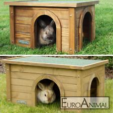 Kleintierhaus zwei Größen; Nagerhaus Kaninchenhaus Katzenhaus Outdoor Hasenhaus
