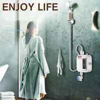 3500W Mini Tankless Electric Shower 3S Instant Hot Water Heater Bathro