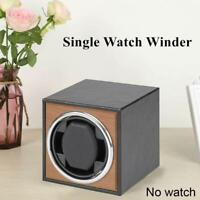 Single Watch Winder,Suitable For Automatic Watches,With Ultra Quiet Motor Shaker