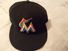 MIAMI MARLINS NEW ERA FITTED CAP SIZE 7 1/4