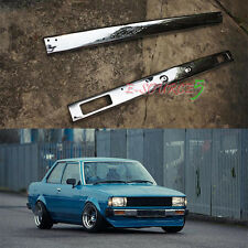 Toyota Corolla KE70 Front And Rear Bumper Chrome KE72 KE75 GL DX Sedan 1973-1983