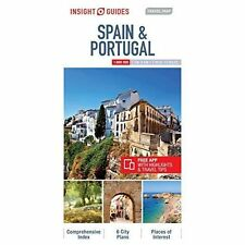 Insight Travel Map Spain & Portugal by Insight Guides (Sheet map, folded, 2017)