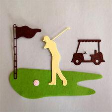 Golf Course Design Metal Cutting Dies For DIY Scrapbooking Album Cards