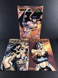 War Angel #s 1-3 1 2 3 Full Complete Run Set Lot Brian Pulido's Avatar Comics NM