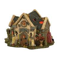 D56 The Haunted Cemetery Shed Lit Building Snow Village Halloween 4056701 SVH