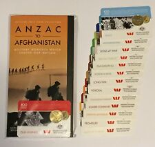 2016 Anzac to Afghanistan 14 piece Coin Set with folder