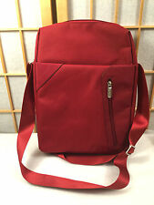 rooCASE Red Slim Notbook Sleeve Padded Bag Laptop Tablet Carr Case Cross Body