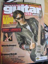 Guitar Techniques Feb 2001 mag cd vgc