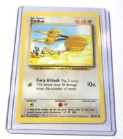 DODUO - Base Set - 48/102 - Common - Pokemon Card - Unlimited Edition - NM