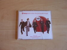 Boyzone: When The Going Gets Tough - CD Single