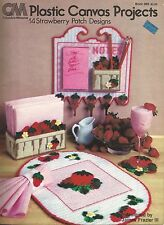 Plastic Canvas Projects 14 Strawberry Patch Designs pattern bk