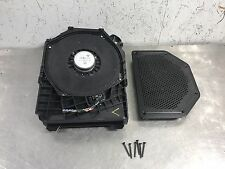 08-13 Bmw 128i E82 Coupe N52 OEM Driver Under Seat Hifi Sub Woofer 9192461