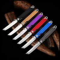StatGear Pocket Samurai Aluminum Pocket Knife - Higo No Kami Key Chain Ring EDC