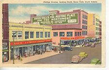 Sioux Falls South Dakota Phililips Ave looking north Newberry's antique pc Z4683