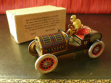 Extr. Rare N. Mint 1908 HESS Tin Friction Flywheel AVANTI Peking-Paris Race Car