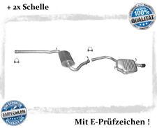 Auspuffanlage Audi A4 ( B6, B7 ) 1.6 Stufenheck, Avant Auspuff Schelle Chrom