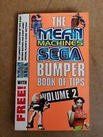 Mean Machines Magazine Sega Bumper Book Of Tips Saturn Mega drive Volume 2 1996
