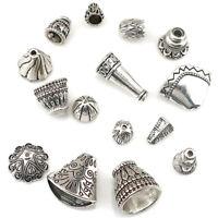 22405 15pcs Vintage Beads Cap Tassle Pendant DIY Jewelry Marking Charm