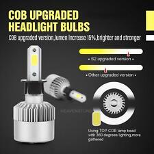 2X H3 LED 200W 20000LM Headlight Beam Bulbs 6000K White High Power Light