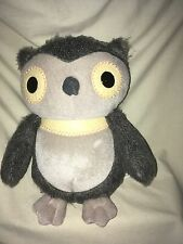 Kohls Cares for Kids Aesop's Fables Plush Owl Stuffed Animal Gray Toy