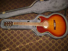 VINTAGE Washburn Festival Series EA20 MTS acoustic / electric guitar w/hard case