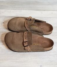 Birkenstock Suede Clogs Size 41/ L10M8 Slip On