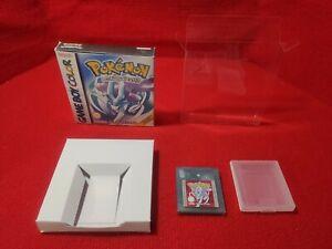 Pokémon Versione Cristallo Nintendo Gameboy Color PAL ITA Box Repro game boy
