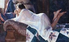 "Steve Hanks, ""Matters of the Heart"", Limited edition on paper, 17""h x 30""w image"