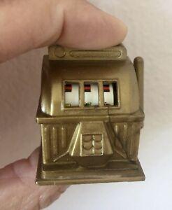Vintage Hasbro Mini Plastic Slot Jackpot Machine Toy 1974 Hong Kong