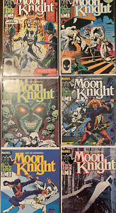 Moon Knight The Fist of Khonshu #1-6 (1985) Complete Set