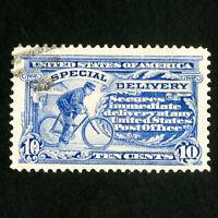 US Stamps # E8 Superb Gem light cancel