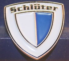 Pin Schlüter Logo Metall Traktor Trecker Metall  13