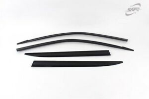 Smoke Weather shields Wind Deflectors for 2019 Ssangyong All New Musso.