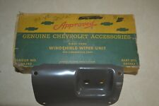 1939 40 41 42 46 Chevy Truck GMC NOS RH Wiper Set Factory GM Accessory Mint NIB