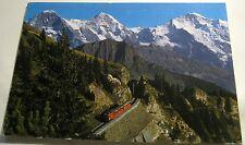 Switzerland Bergbahn Schynige Platte 34939 Gyger - posted 1972