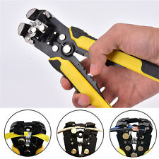 Professional Automatic Wire Striper Cutter Crimper Stripper Pliers Terminal AL