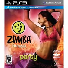 Zumba Fitness Join The Party Complete With Belt for PAL Sony PlayStation 3 Ps3