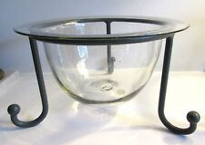 Htf Partylite Tabletop Seville Wrought Iron Stand - No Glass Bowl