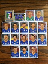 ITALY TEAM 17 PANINI STICKERS, WORLD CUP SOUTH AFRICA 2010 #AFRICA21