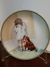 "Bessie Pease Gutmann Collector Plate ""ln Disgrace"" 1st Issue 1985 #0005Q"