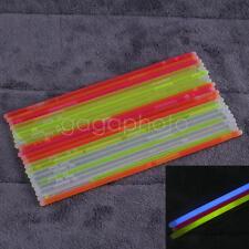 25x Bâton lumineux Fluorescents Fête Mariages Discothèque Lumière Set lightstick