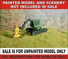 N scale Feller Buncher  logging equipment 1:160 railroad vehicle train unpainted